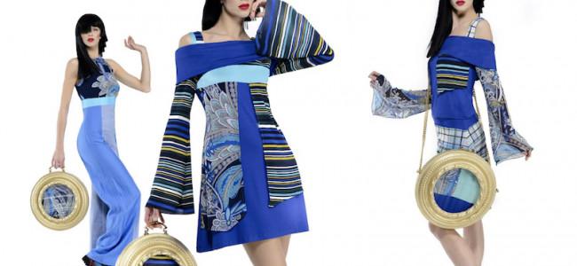 """In passerella """"i diritti della moda"""" con la collezione Abitart di Vanessa Foglia"""