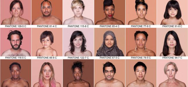 Humanae: il progetto contro le discriminazioni razziali che cataloga le tonalità della pelle umana