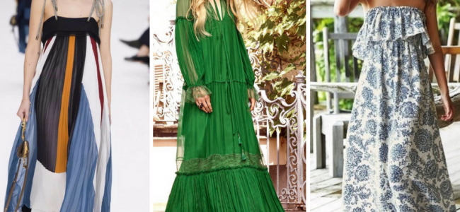 Maxidress, il must-have dell'estate