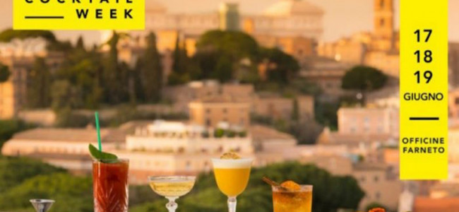 Roma Cocktail Week: l'evento dedicato all'arte della mixology