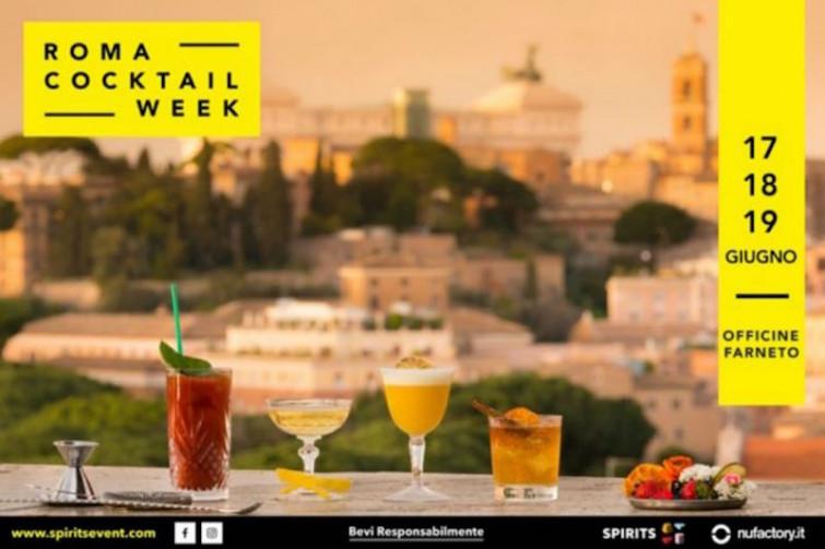 Roma Cocktail Week: l'evento dedicato all'arte della mixology