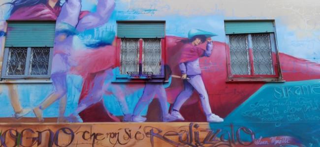 Sikame: il cortometraggio spagnolo sui muri dei quartieri di Roma