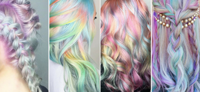 #Unicornhair: la tendenza capelli che propone chiome in stile unicorno