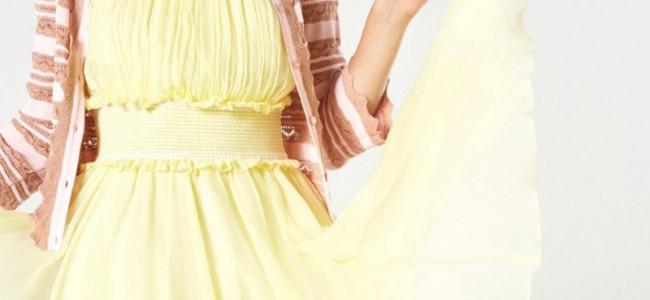 La bellezza di Anna Molinari per la Blumarine Resort 2018