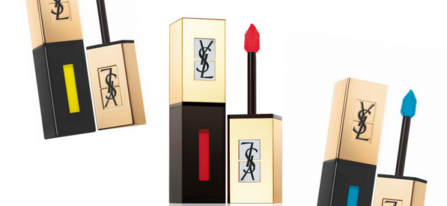 La rivoluzione dei colori sulle labbra è con Vernis a? le?vres di Yves Saint Laurent Beauté