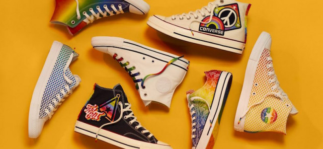 Converse da vita alla 'Pride collection' per Lgbtq