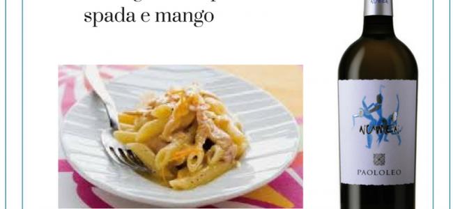 Pennette rigate con pesce spada e mango: un primo piatto nutriente e colorato facile da preparare