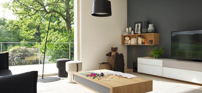 Arredi smart in legno naturale. Ecco le proposte TEAM 7 dedicate agli spazi piu? piccoli, che arredano con gusto e portano il calore del legno dentro casa