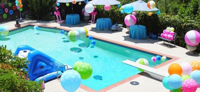 Idee per una festa di compleanno in piscina, il must dell'estate!