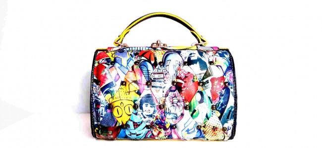 """La pop bag di Harleq vincitrice al contest """"Mipel incontra Warhol"""" [GALLERY]"""