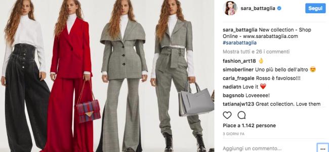 Sara Battaglia: la lavorazione tipica degli accessori è il leitmotiv della collezione d'abbigliamento