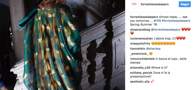 F.R.S, For Restless Sleepers: è la sensualità la parola d'ordine per collezione dell'estate 2018