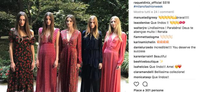Raquel Dinz: la collezione primavera estate 2018 si ispira agli anni Settanta