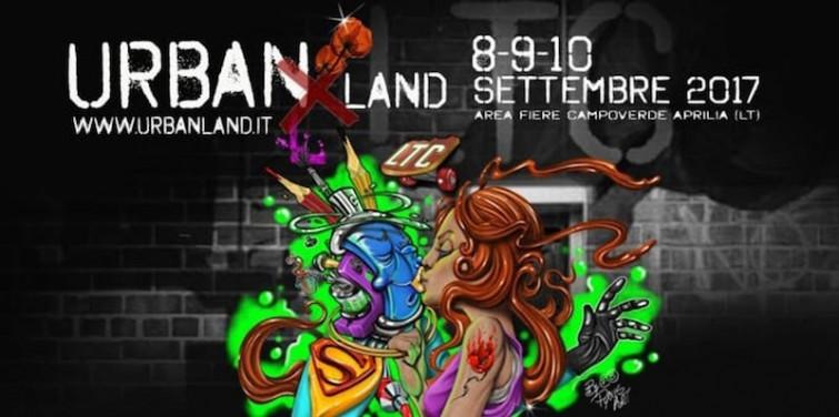 Urban Land: festival internazionale sulla cultura metropolitana 8-9-10 settembre