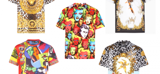 Versace presenta le T-shirt della collezione Versace Tribute in limited edition [GALLERY]