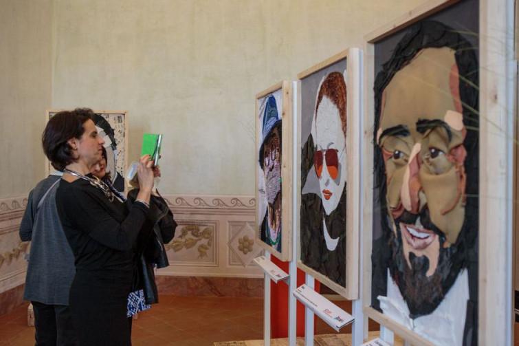 """Rifiuti che diventano opere d'arte: fa tappa a Modena la """"Waste Art"""" di Scart"""