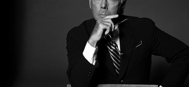 Giorgio Armani:  lascerò la Fondazione a 3 persone di mia nomina