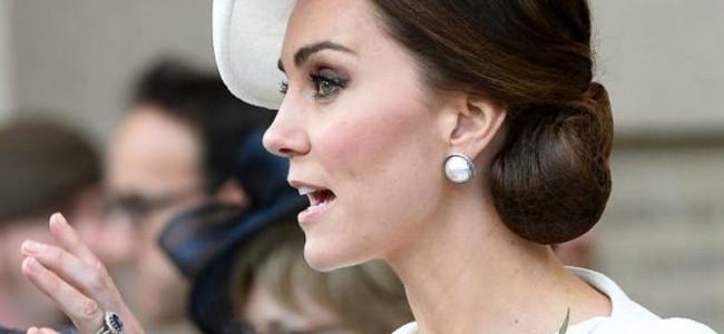 Kate Middleton non indossa mai lo smalto, ecco il motivo