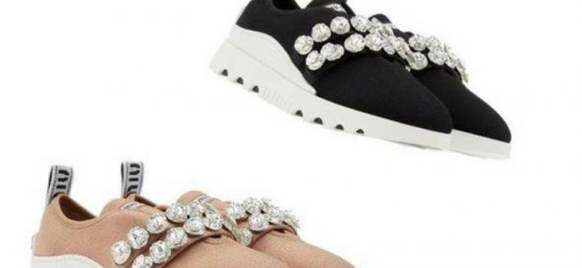 "Le sneakers diventano ""massimaliste"" da Miu Miu"