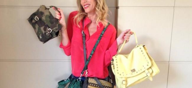 Alessia Marcuzzi devolverà il ricavato delle vendite web delle sue borse al World Food Programme