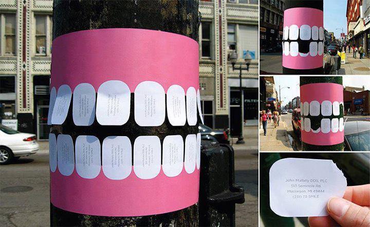 Annuncio di dentista simpaticissimo!