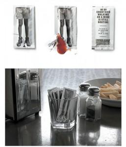 Bustina di ketchup un pò pericolosa!