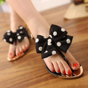 2013-Cute-font-b-Bow-b-font-Dot-font-b-sandals-b-font-women-s-metal