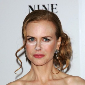 "NEW YORK - DECEMBER 15:  Actress Nicole Kidman  attends the New York premiere of ""Nine"" at the Ziegfeld Theatre on December 15, 2009 in New York City.  (Photo by Jim Spellman/WireImage)"
