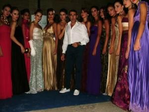 Foto Michele Miglionico e le modelle mod