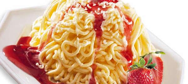 Chi vuole un piatto di spaghetti-gelato?