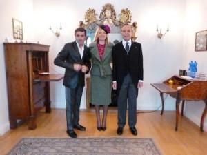 Photo.5a Ambasciatore Pasquake Terracciano - Cconsorte Mrs Karen Lawrence Terracciano e Michele Miglionico