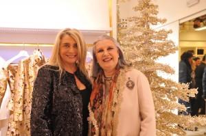 Laura Biagiotti con Mara Venier