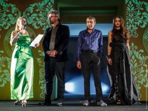 Foto Michele Miglionico Michele Gaudiomonte, Daniela Mazzacane e modella rid