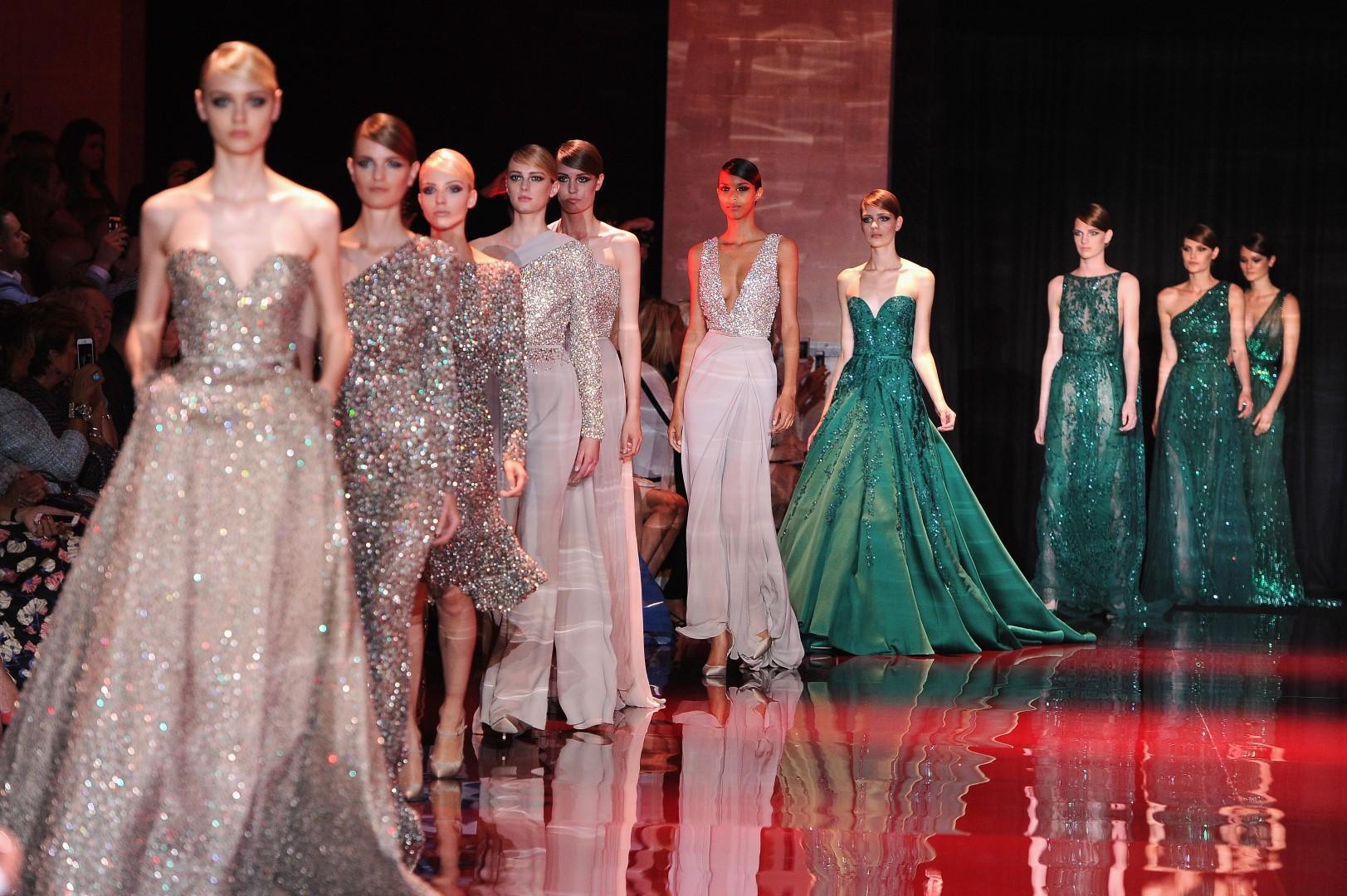 модные платья с показов фото