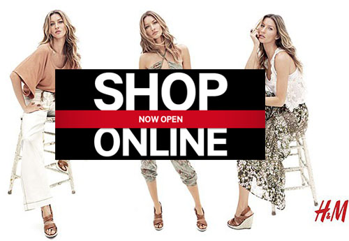 huge selection of d0390 9a200 Finalmente anche H&M ha lanciato lo shopping online