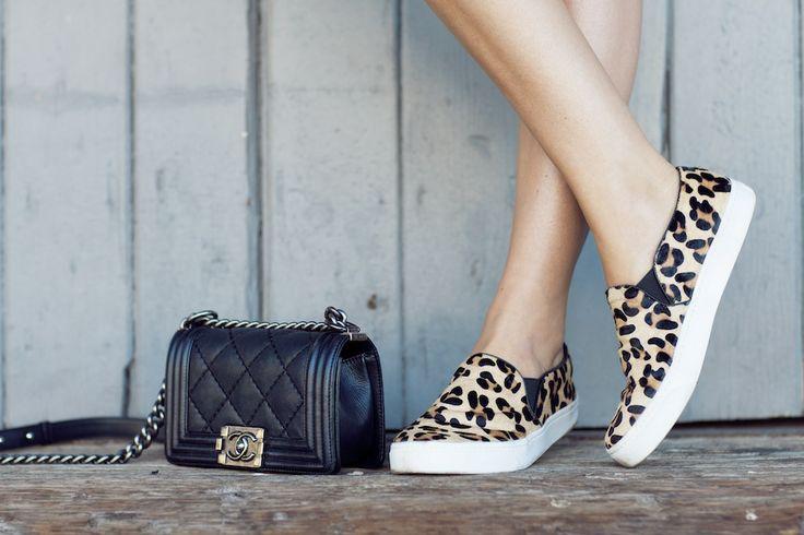 vans leopardate slip on