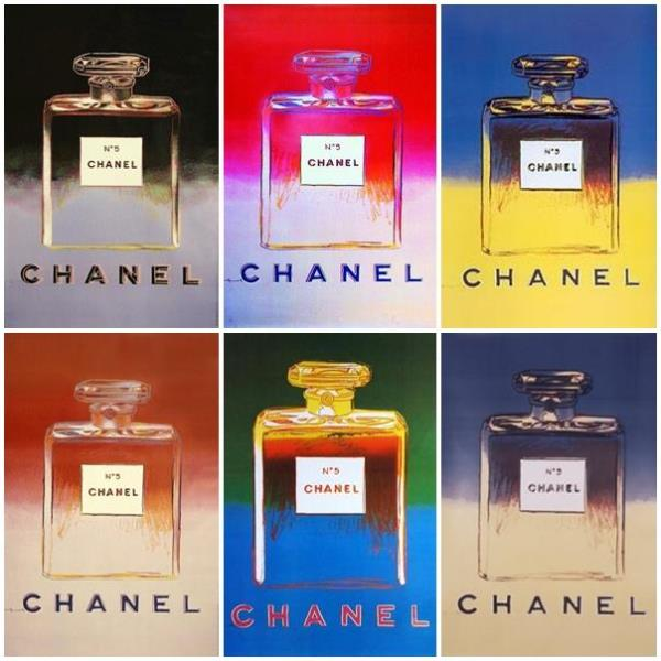 Andy Warhol for Chanel n. 5 Ads.Chanel