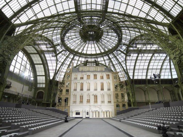 Grand Palais Paris location Sfilata Chanel