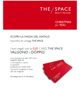 Gift Card The Space