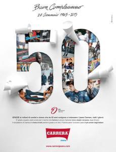 Moda:Carrera Jeans compie 50 anni e guarda all'estero