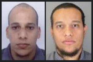 Combo attentatori Charlie Hebdo