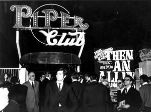 ©Archivio Lapresse 1966 Roma Italia Spettacolo Ingresso del Piper Club
