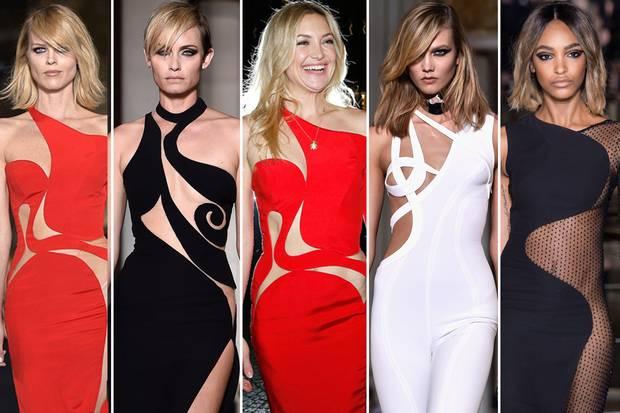 db72dace0e16 La sfilata di Donatella Versace incanta Parigi  FOTO