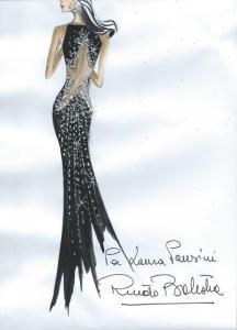 Renato Balestra veste Laura Pausini
