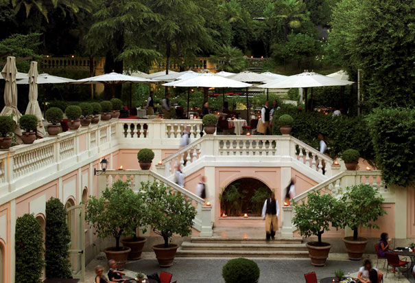 Hotel de Russie, Roma
