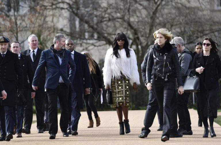 La Presse/Reuters- l'arrivo di Naomi Campbell