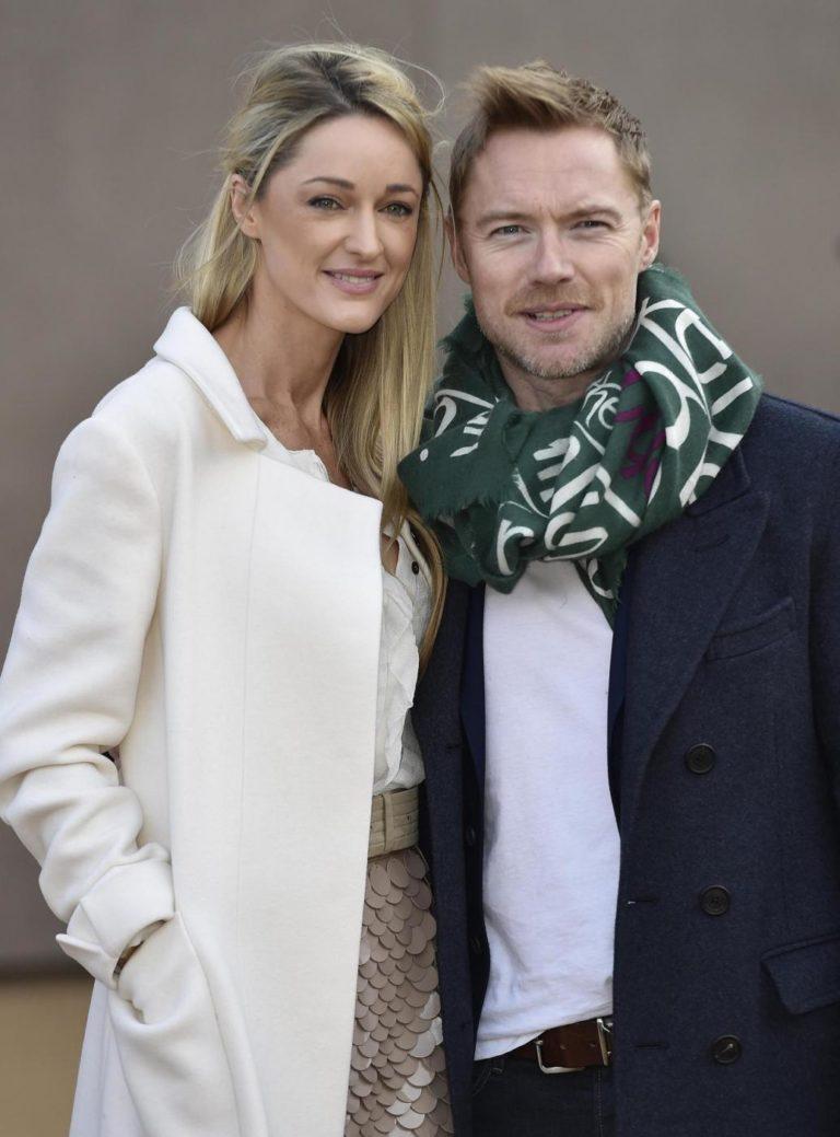 La Presse/Reuters- Ronan Keating e la fidanzata
