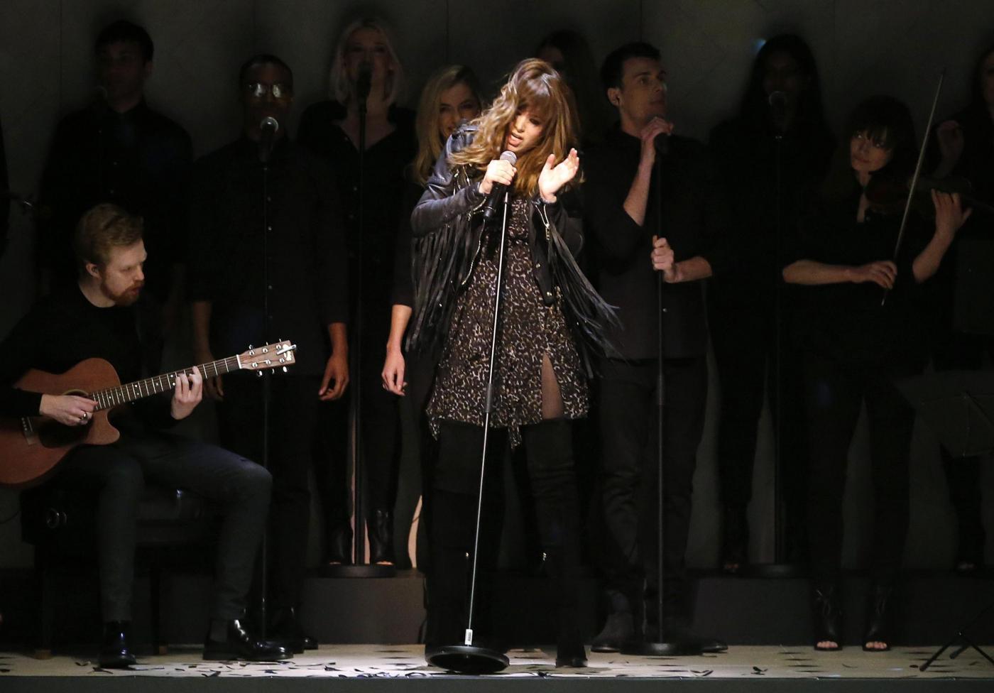 La Presse/Reuters- la cantante Clare Maguire