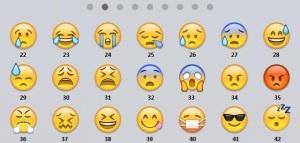 emoticons numerate 2