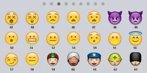 emoticons numerate 3